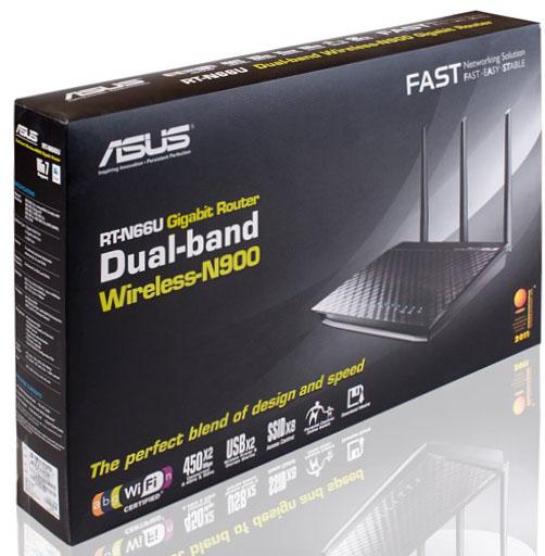ASUS RT-N66U or wireless 900 Mbps