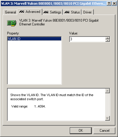 Virtual Local Area Networks in Windows